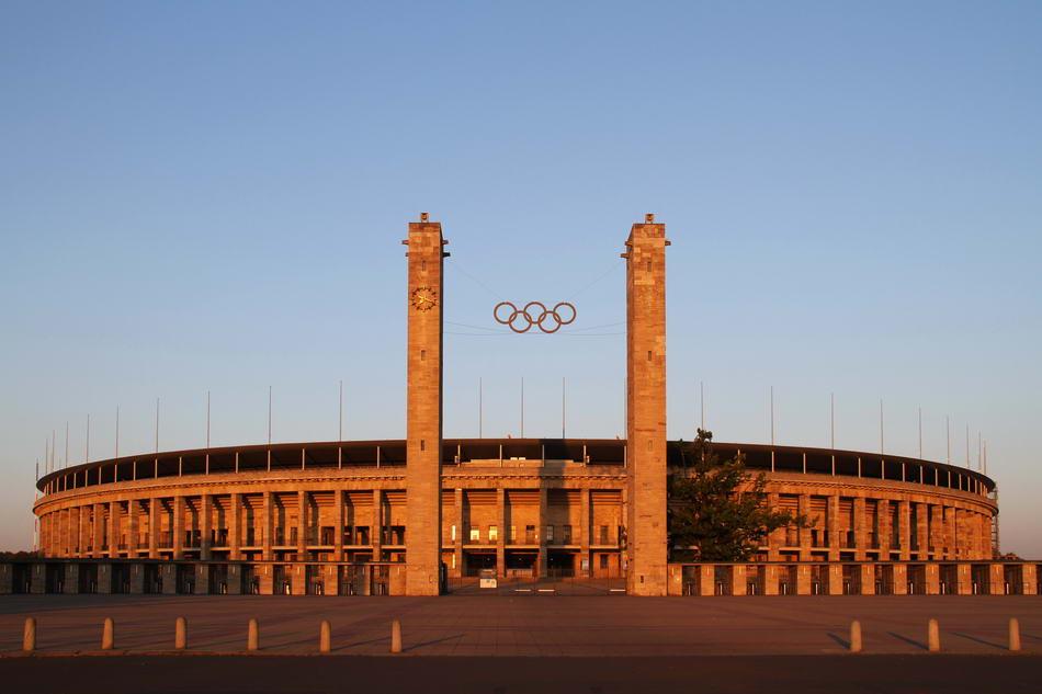 OLYMPIASTADION - BERLIN-CHARLOTTENBURG