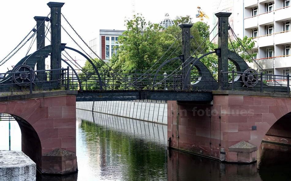 JUNGFERNBRÜCKE - BERLIN-MITTE - 1798 - KLAPPBRÜCKE - ÄLTESTE ERHALTENE BRÜCKE BERLINS