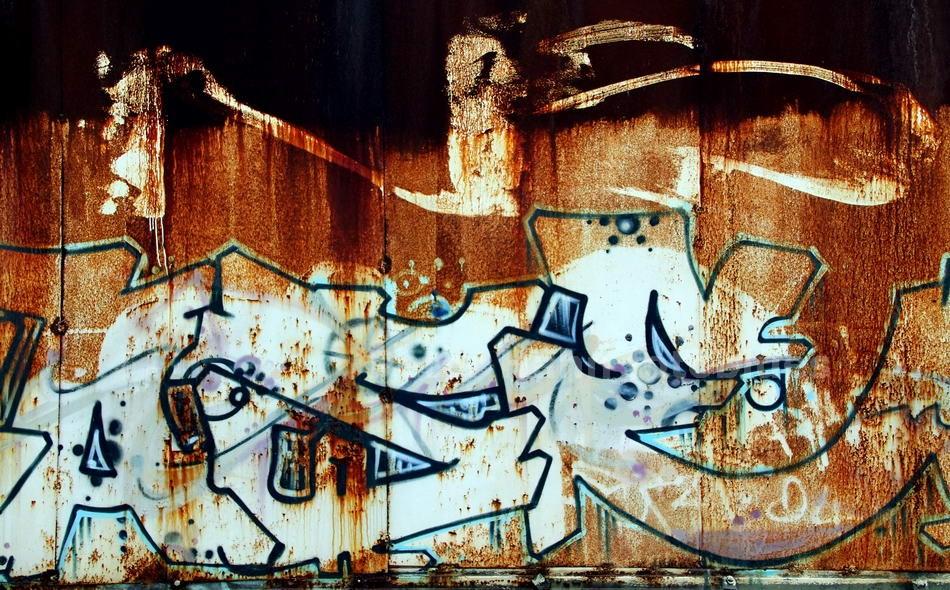 ROSTGRAFITTI - BERLIN-SCHÖNEWEIDE