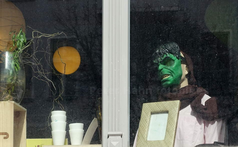 GREEN FACE IN DER VICTORIASTADT - BERLIN-LICHTENBERG