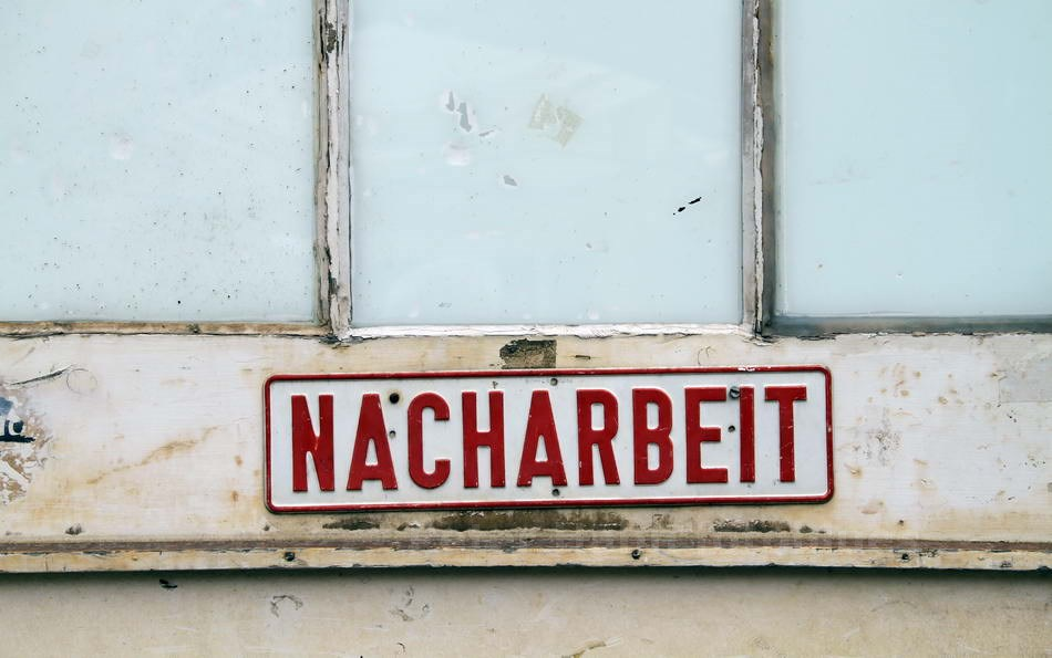 NACHARBEIT - BERLIN-CHARLOTTENBURG