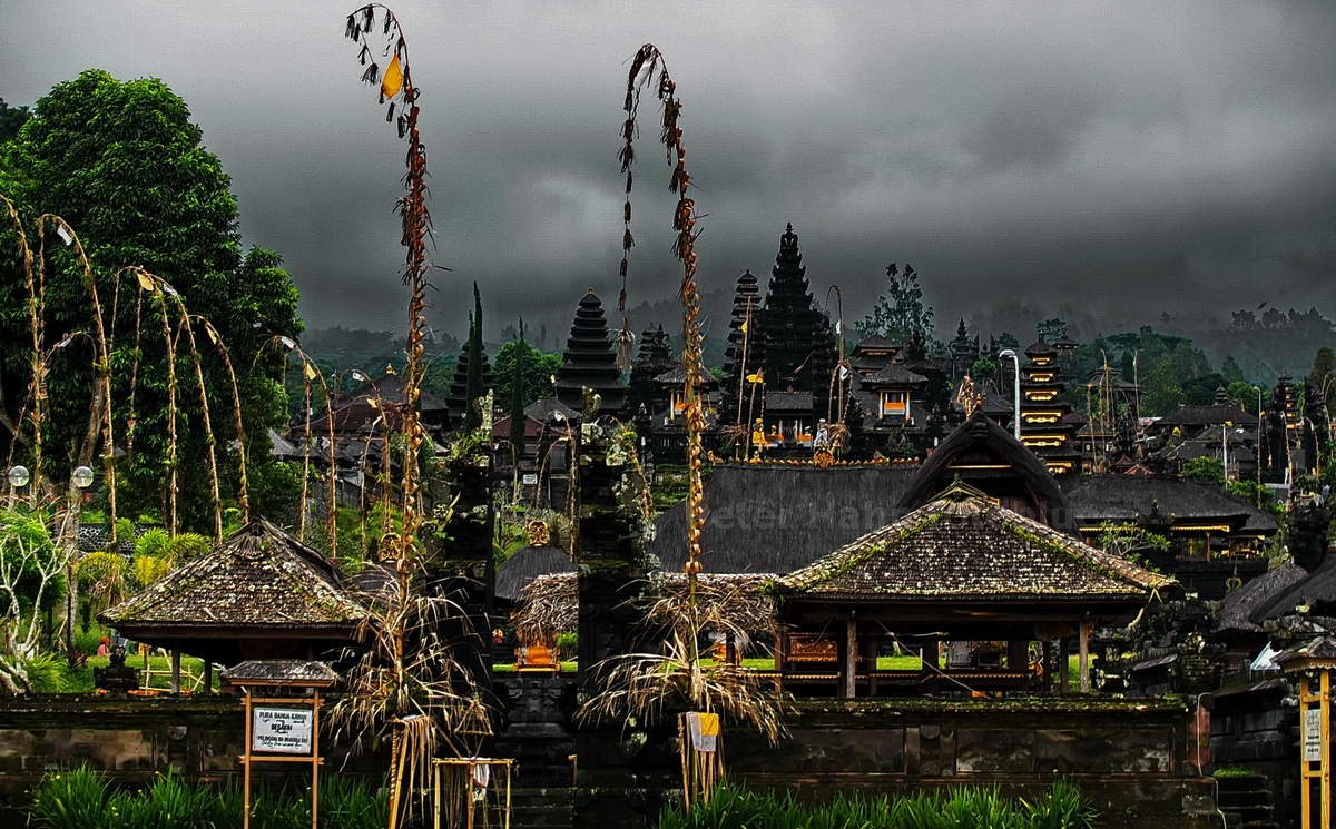 MUTTERTEMPEL - BESAKIH - BALI - INDONESIEN-INDONESIA - MUTTERTEMPEL
