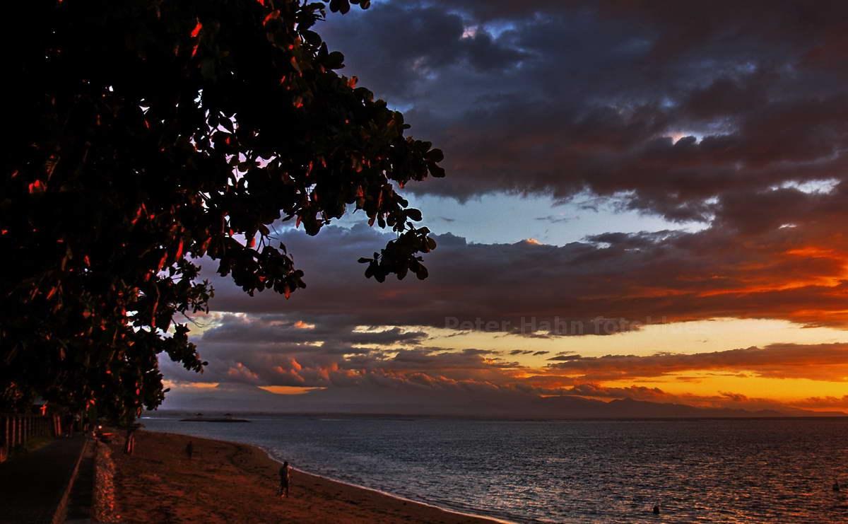 SUNRISE - SANUR - BALI - INDONESIEN-INDONESIA