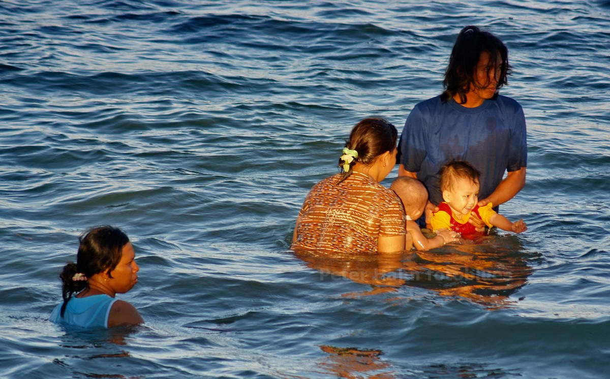 FAMILIENBAD - SANUR - BALI - INDONESIEN-INDONESIA