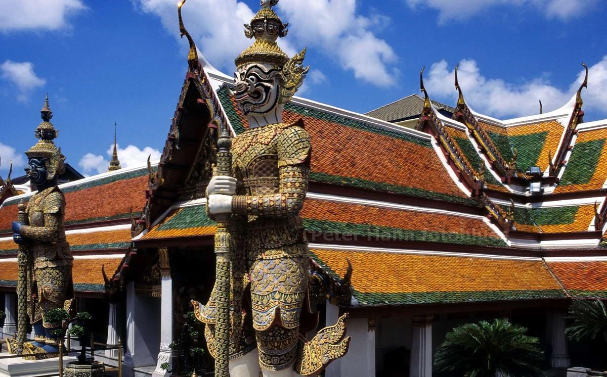 IM KÖNIGSPALAST - BANGKOK - THAILAND-THAI