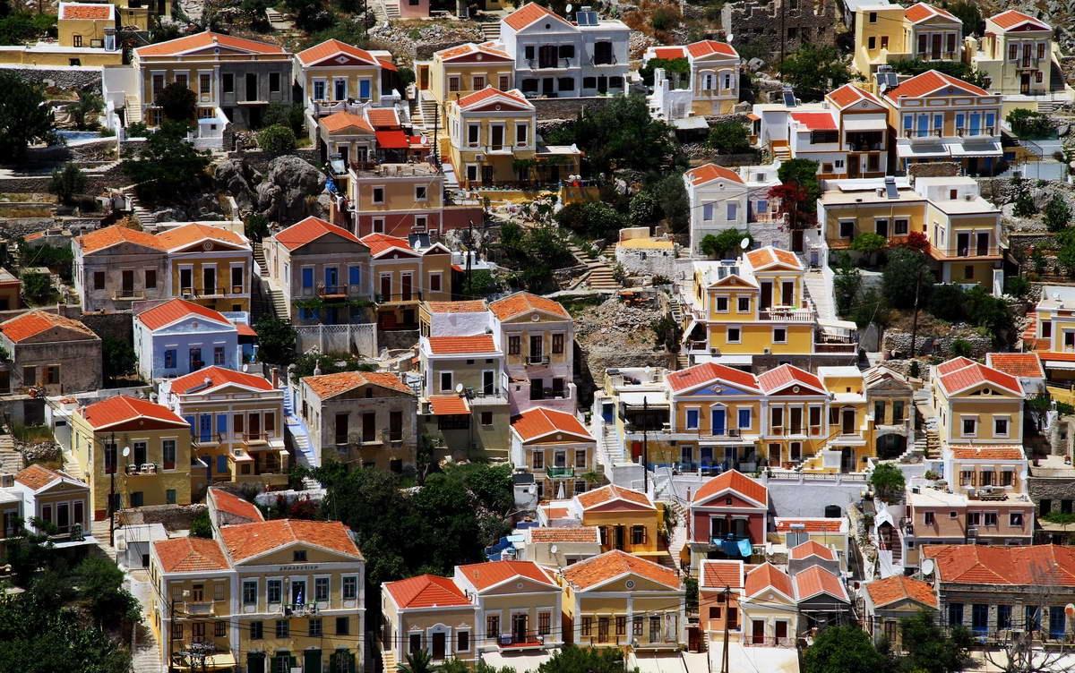 SYMI - DODEKANES - GRIECHENLAND-GREECE-HELLAS