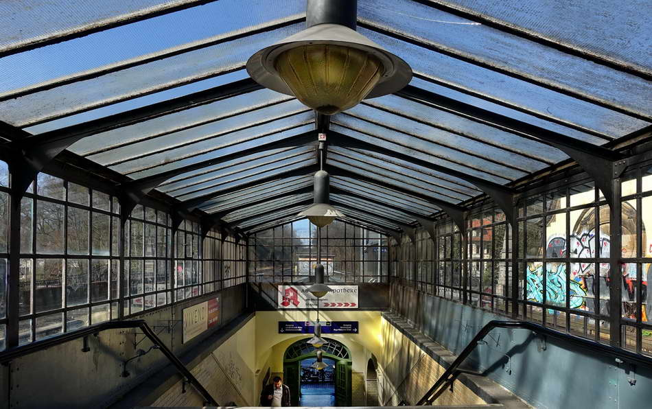 Berlin Zehlendorf Bahnhof Mexikoplatz Foto Peter Hahn fotoblues 1a