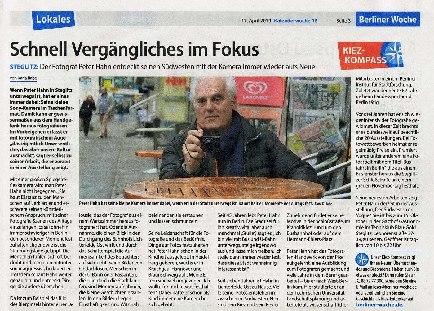 Berliner Woche Artikel in der Zeitung 04 2019 konv1a