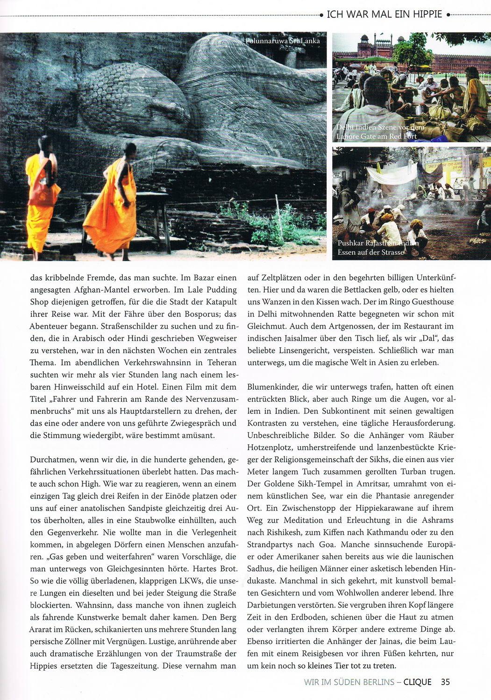 Clique Magazin 2 2019 Artikel Ich war mal ein Hippie 2 konv