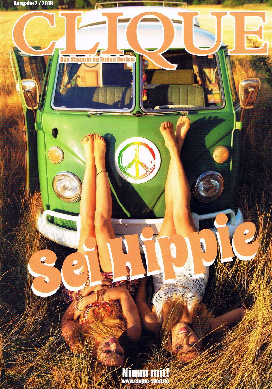 Clique Magazin 2 2019 Artikel Ich war mal ein Hippie 5 konv