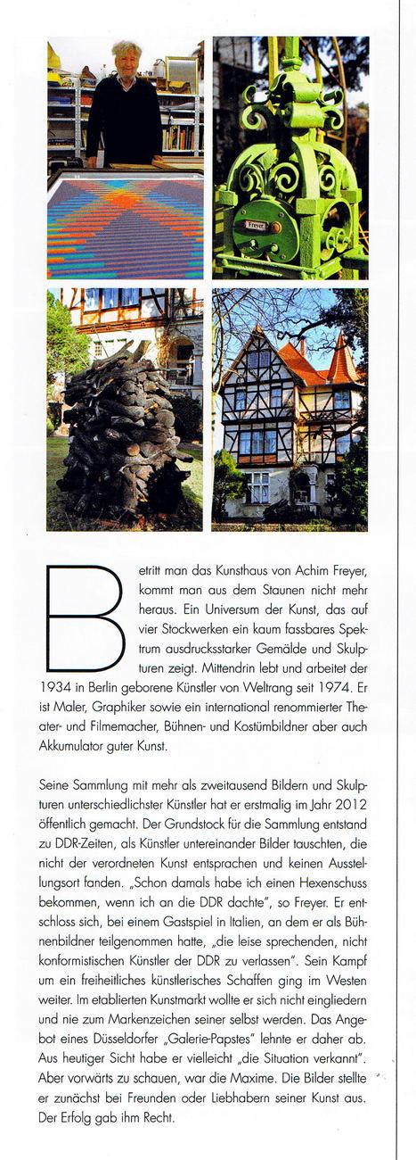 Ferdinandmarkt Magazin Achim Freyer Artikel 02 konv