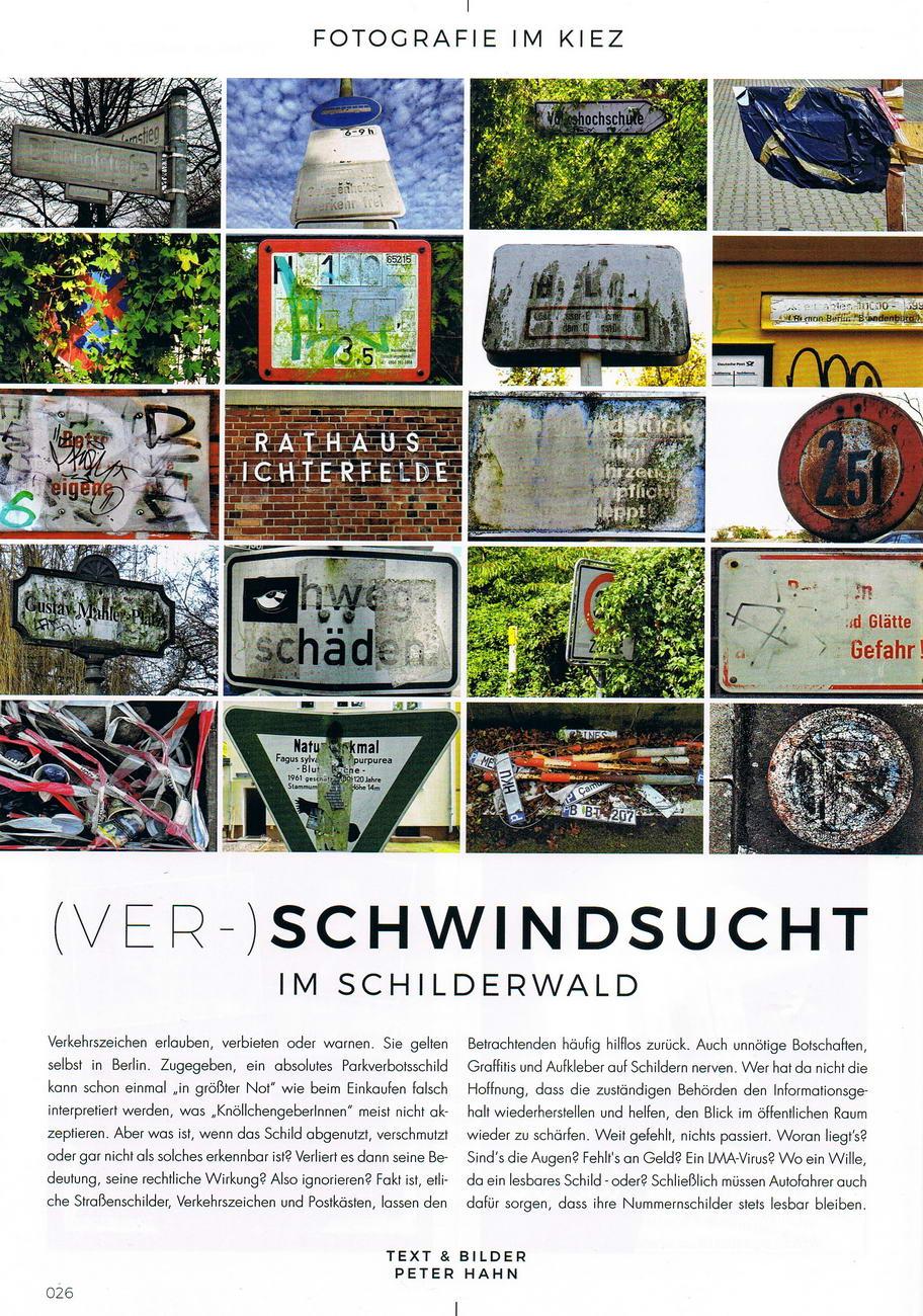 Ferdinandmarkt Magazin Collage Bilder Schwindsucht konv