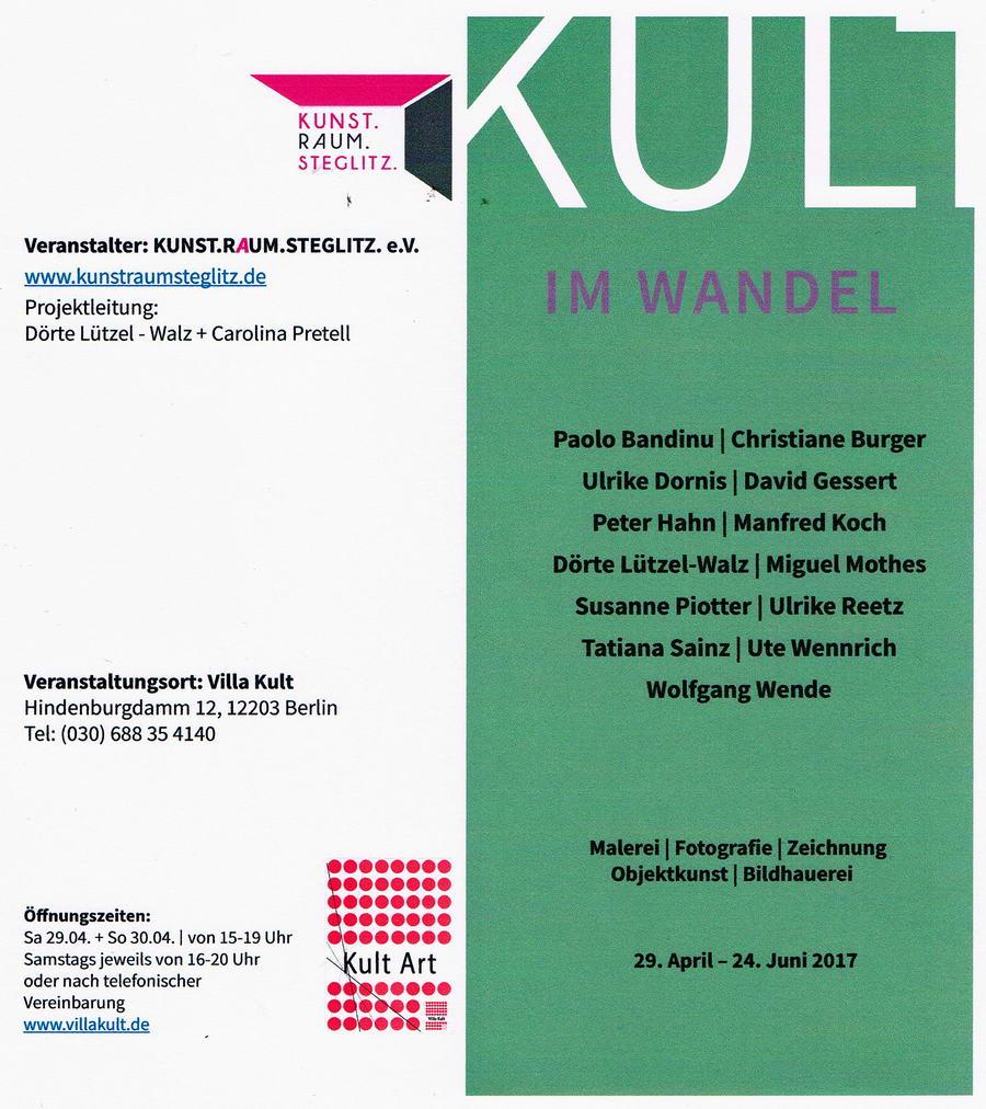 Kult im Wandel Einladungskarte Ausstellung1