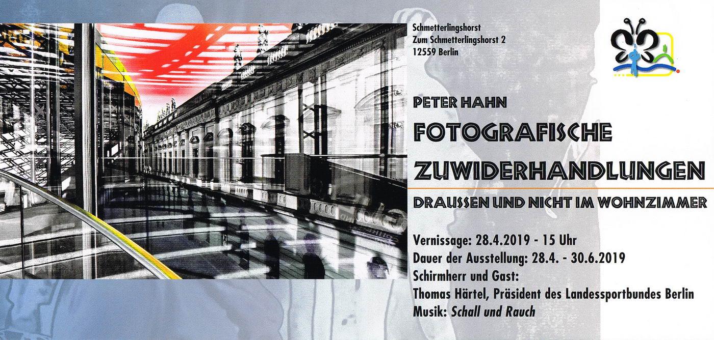 Schmetterlingshorst 2019 Flyer Fotoausstellung Peter Hahn 1 konv