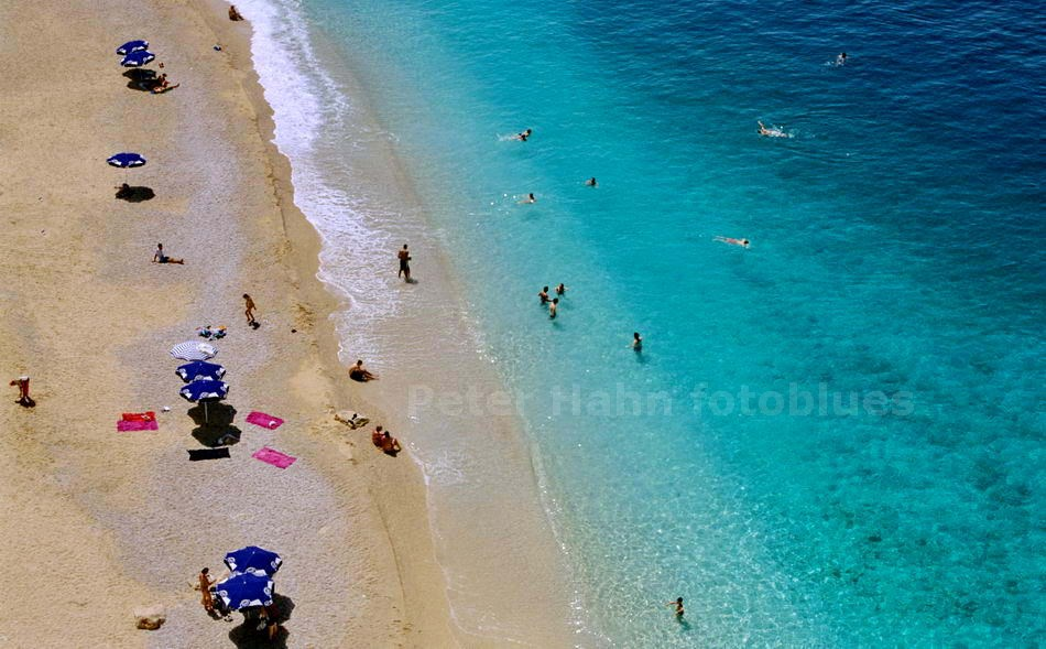KAPUTAS BEACH - LYKIEN - TÜRKEI-TURKEY