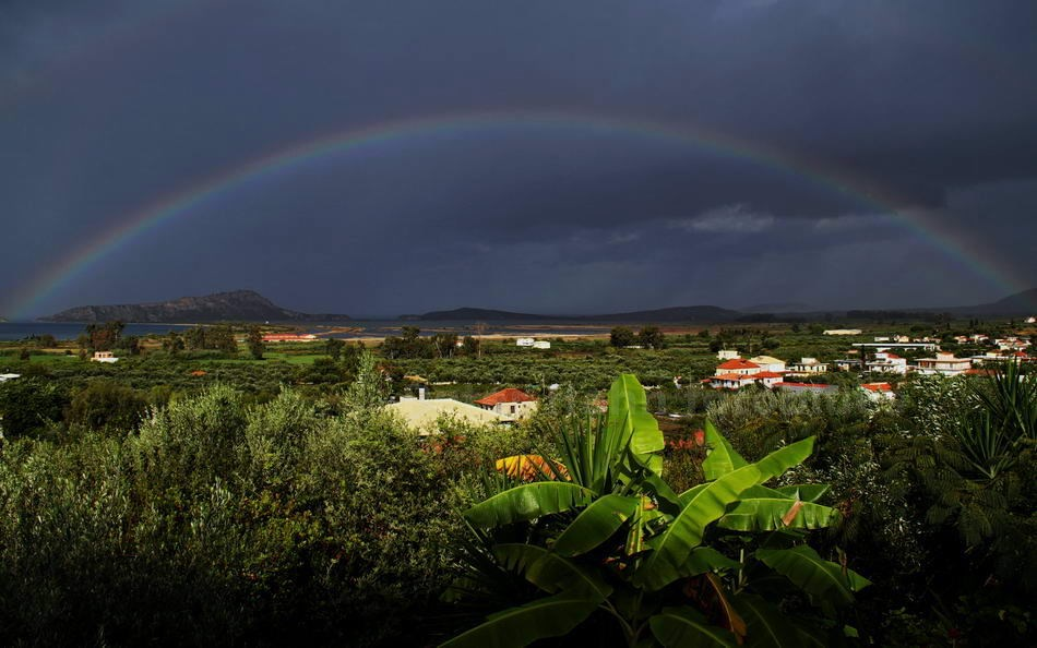 GIALOVA - PYLOS-PELOPONNES-GREECE - RAINBOW