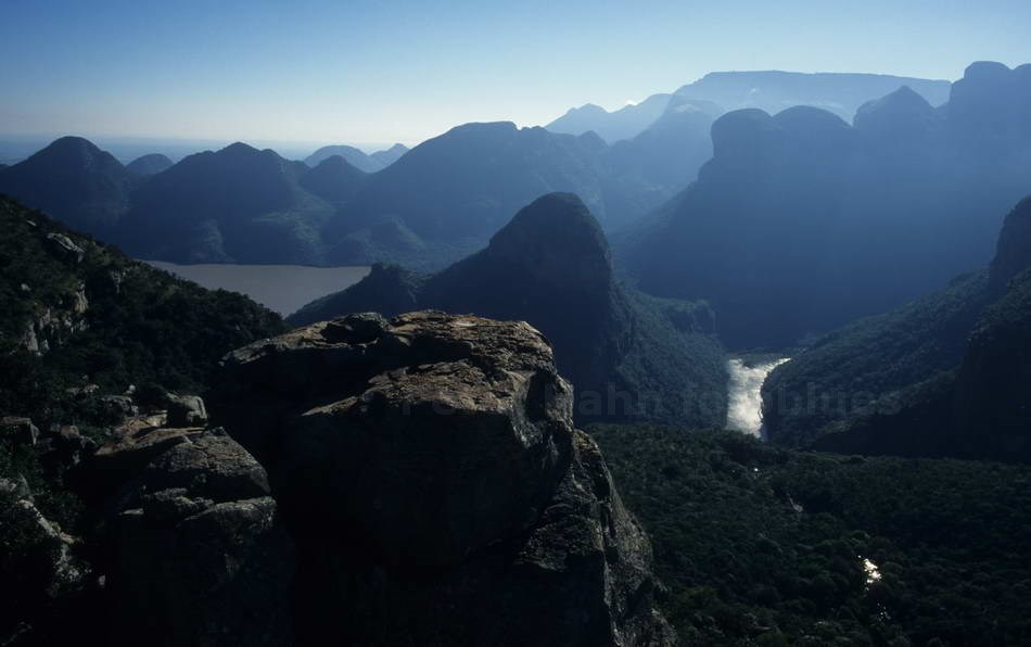 BLYDE RIVER CANYON - MPUMALANGA-SOUTH AFRICA - PANORAMA