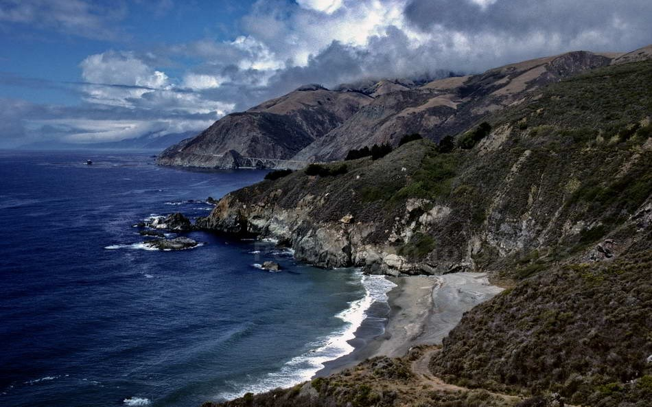 BIG SUR - PACIFIC HIGHWAY-CALIFORNIA - USA