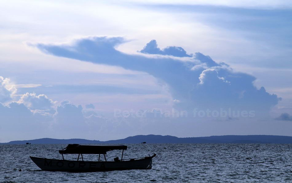 SIHANOUKVILLE - CAMBODIA - DRACHENWOLKE