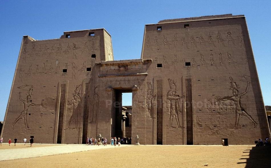 EDFU - ÄGYPTEN-EGYPT - TEMPEL