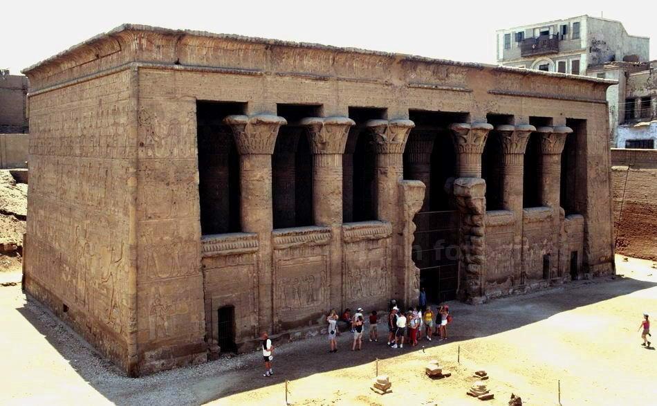 ESNA - ÄGYPTEN-EGYPT - TEMPEL