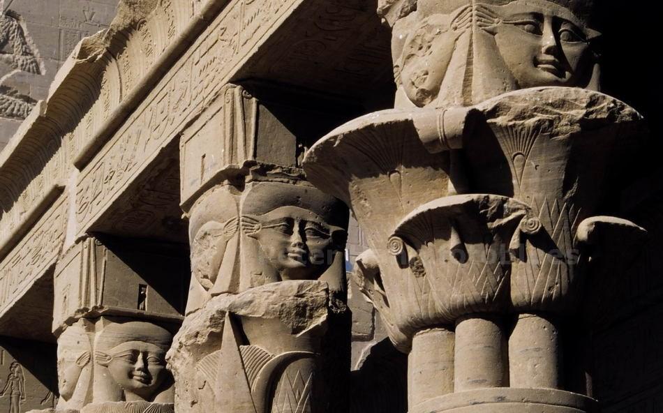 PHILAE - ASSUAN - ÄGYPTEN-EGYPT - TEMPEL