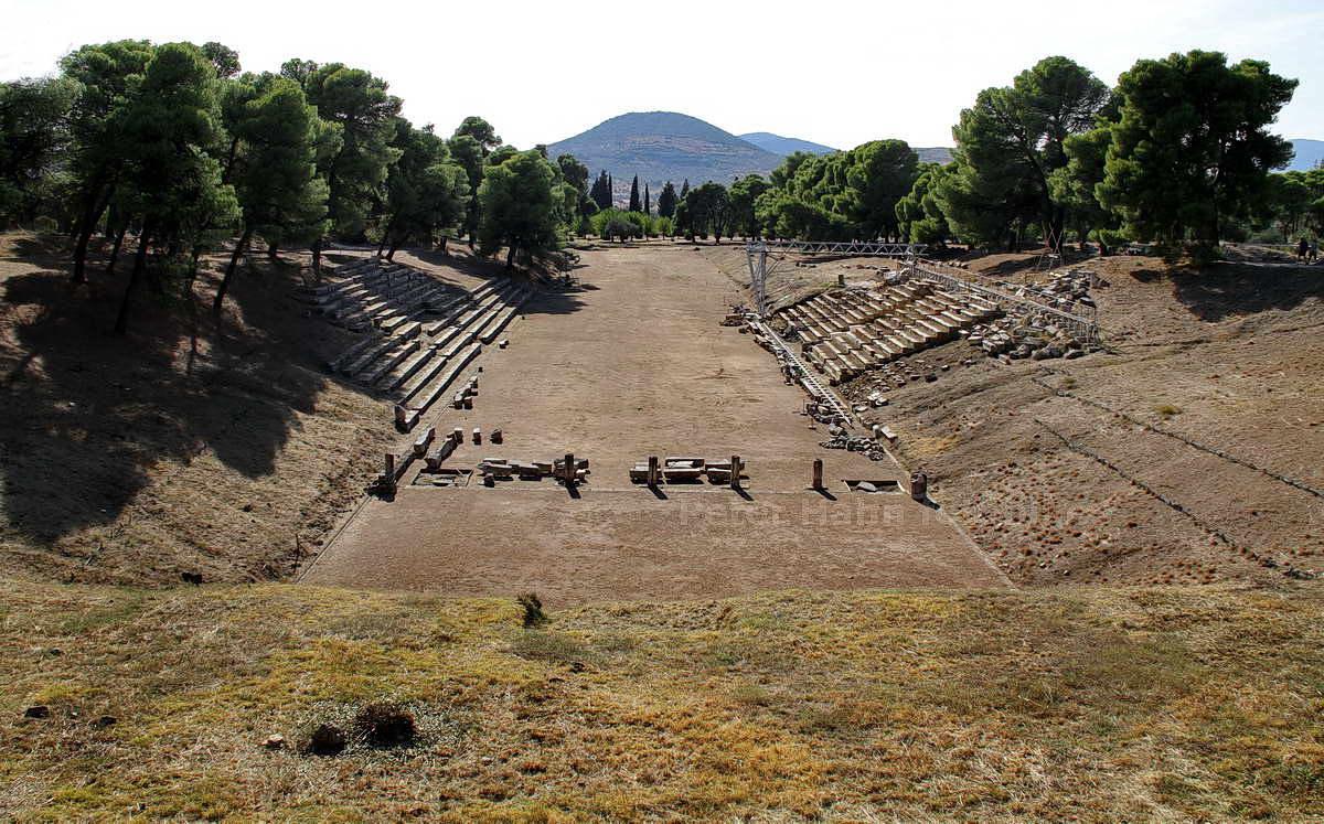 EPIDAUROS - PELOPONNES-GREECE - ALTGRIECHISCHES ARENA