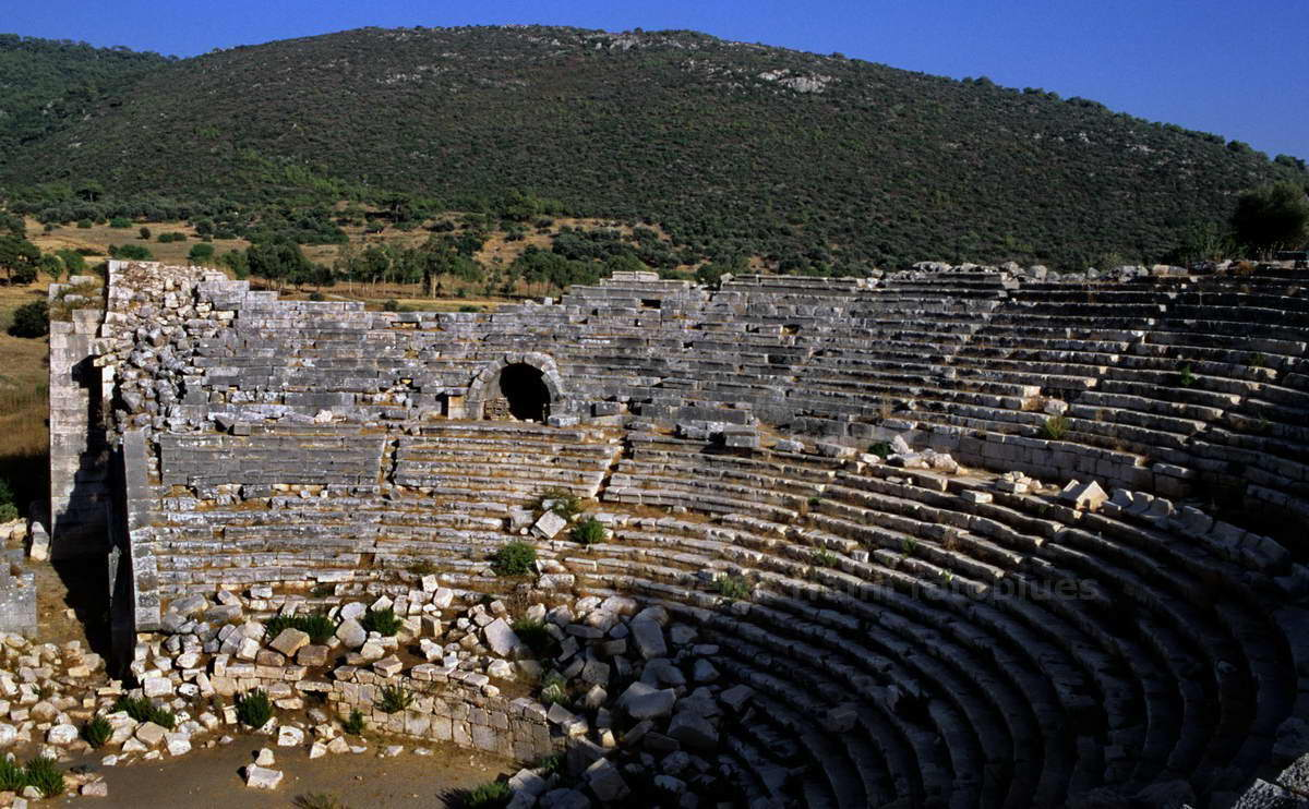 PATARA - ARSINOE-GELEMIS - TÜRKEI-TURKEY - ANTIKES THEATER