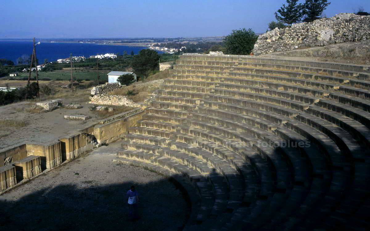 SOLI - TURKISH NORTH CYPRUS - ANTIKES THEATER