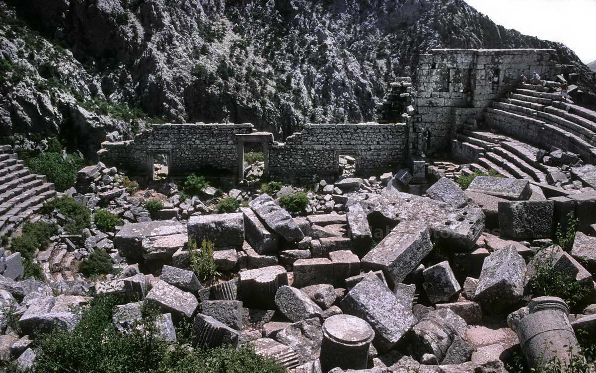 TERMESSOS - ANTALYA-TURKEY - ANTIKES THEATER