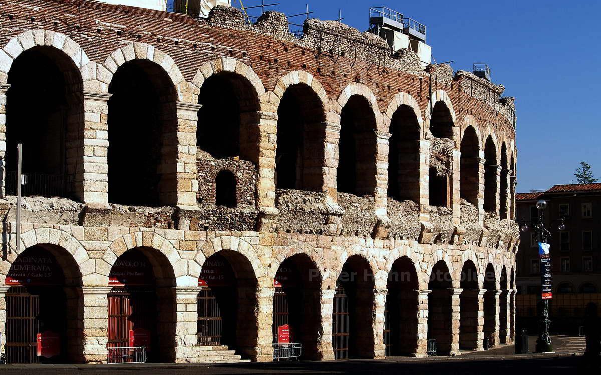 VERONA - VENETIEN - ITALIEN-ITALY - ARENA - RÖMISCHES AMFITHEATER