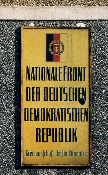 BERLIN-KÖPENICK - DDR - NATIONALE FRONT DER DDR