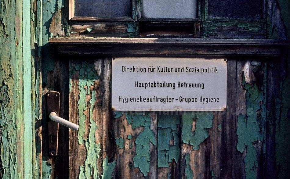 BITTERFELD - DDR - HYGIENEBEAUFTRAGTER