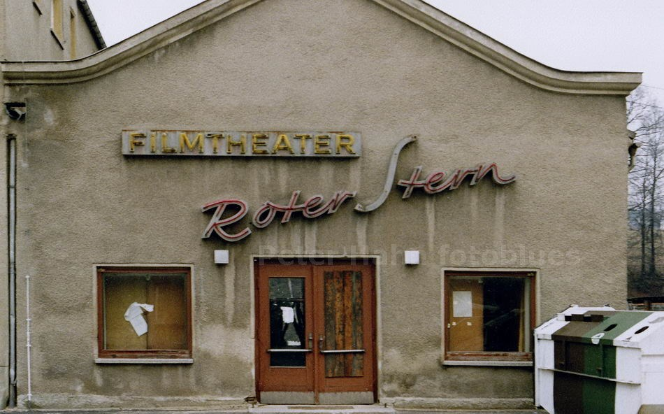 OBERLIMBACH-SACHSEN - DDR - KINO ROTER STERN