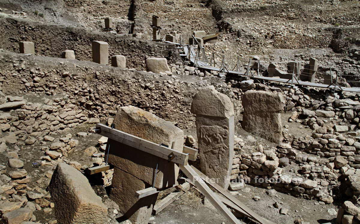 GOBEKLI TEPE-TURKEY-11.000 Jahre ALTES MONUMENT