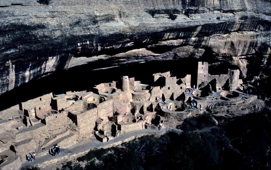 MESA VERDE N.P. - COLORADO-USA - CLIFF DWELLINGS