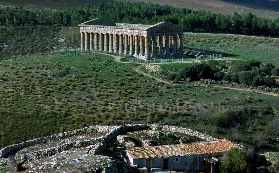 SEGESTA - SICILIA-ITALY - DORISCHER TEMPEL