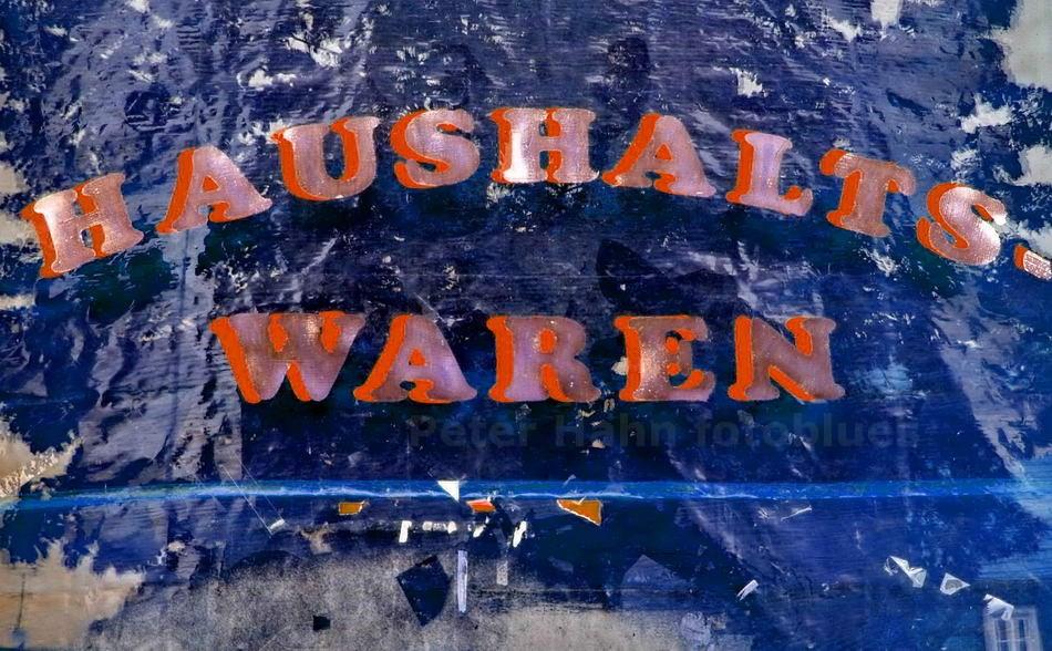 HAUSHALT UND WAREN - TREUENBRIETZEN-BRANDENBURG - DEUTSCHLAND-GERMANY