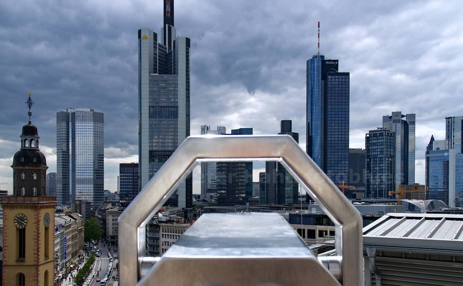 FRANKFURT - GERMANY - SKYLINE