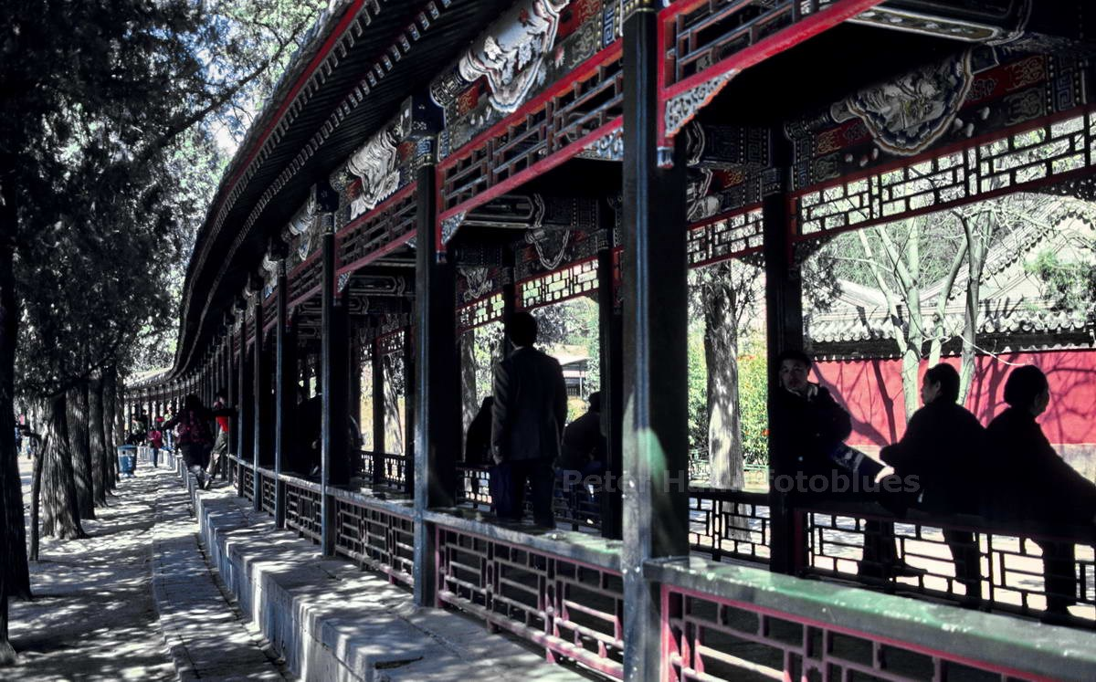 PEKING - CHINA - GARTEN AM KUNMING PALAST