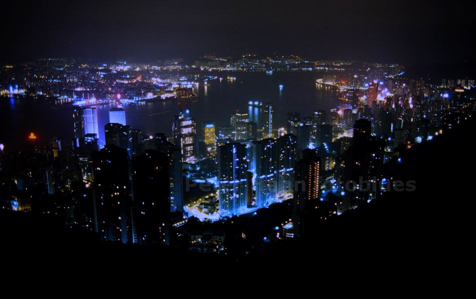 HONGKONG - CHINA - STADTSHILOUETTE