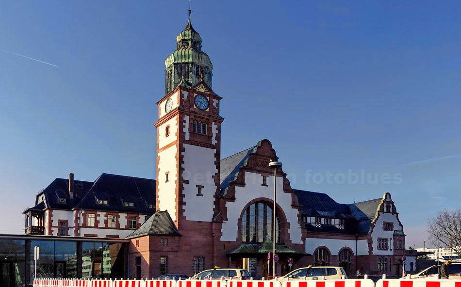 BAD HOMBURG - GERMANY - JUGENDSTILBAHNHOF