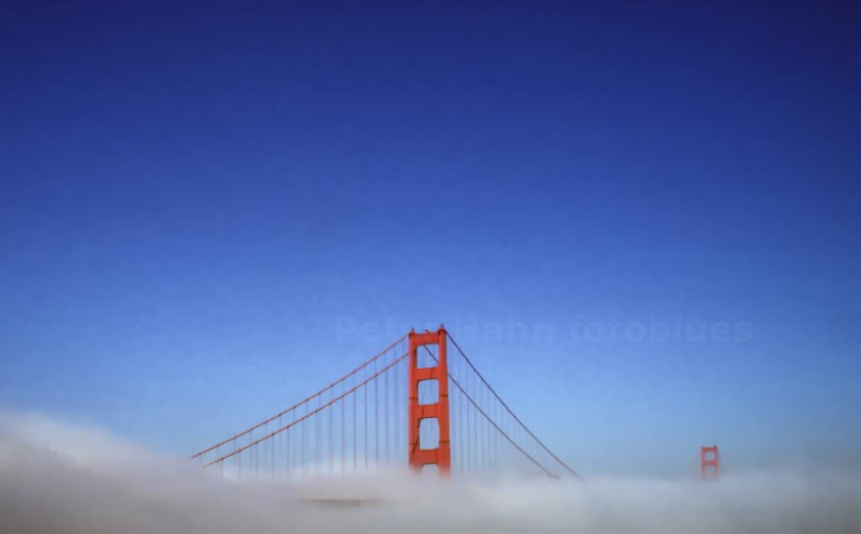 SAN FRANCISCO - CALIFORNIA-USA - GOLDEN GATE BRIDGE VON 1937 - 2.737 M LANG