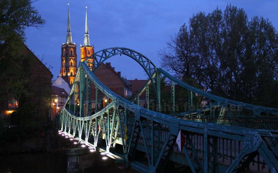 WROCLAW-BRESLAU - SLASK-SCHLESIEN - POLSKA-POLAND - ALTE BRÜCKE