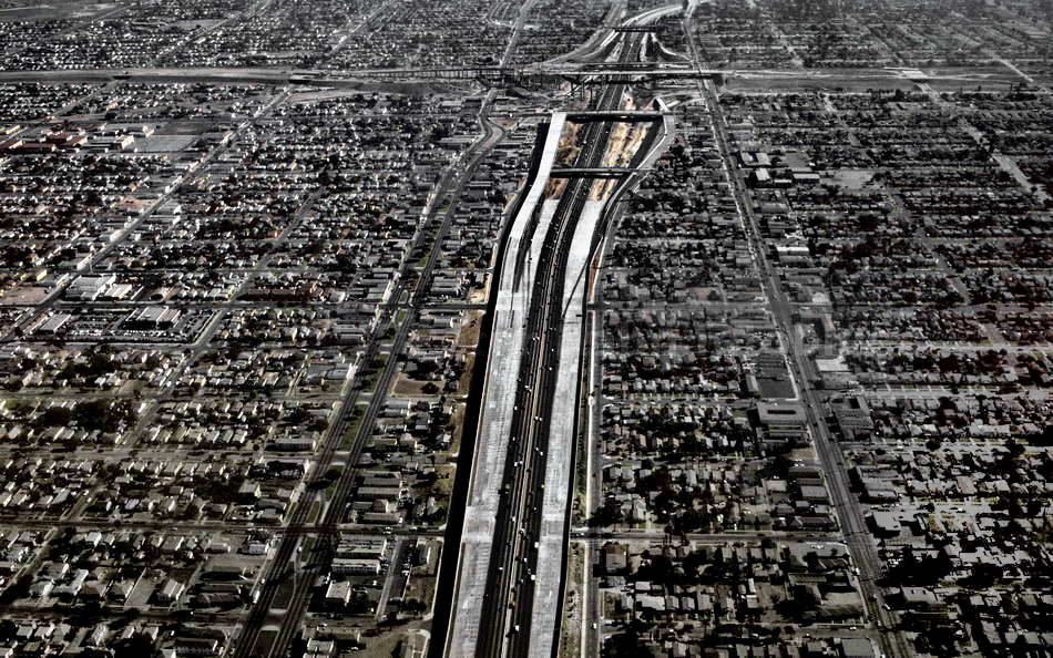 LOS ANGELES - CALIFORNIA-USA - CITY HIGHWAY