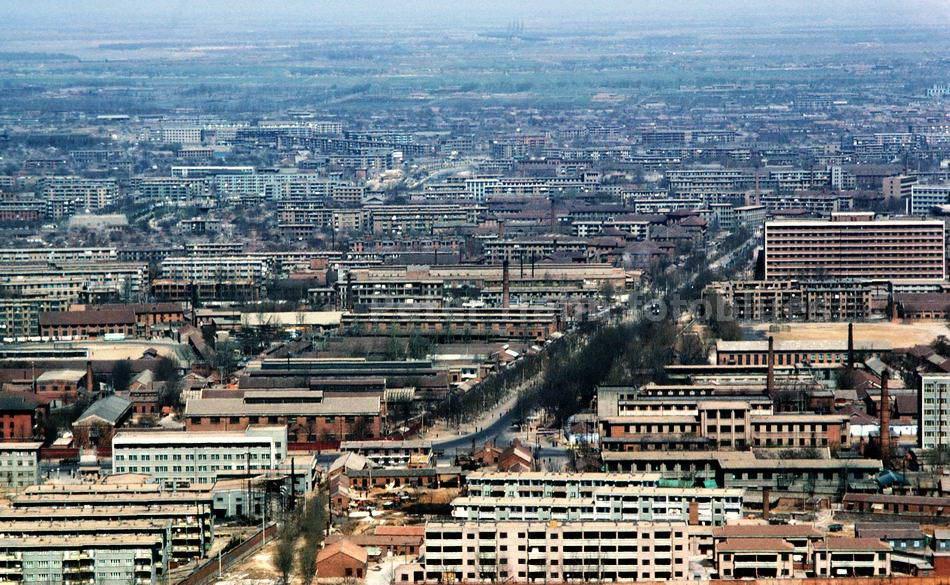 JINAN - SHANDONG-CHINA - STADTPLANUNG DER 1960ER JAHRE