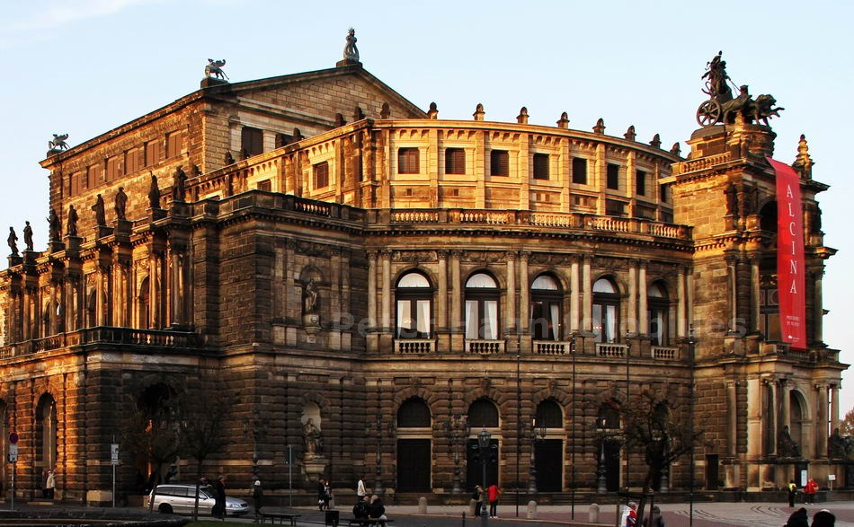 DRESDEN - GERMANY - SEMPEROPER