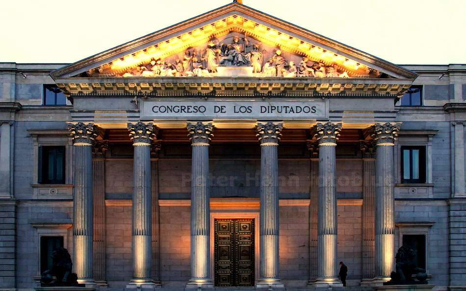 MADRID - SPANIEN-SPAIN - CONGRESO DE LOS DIPUTADOS