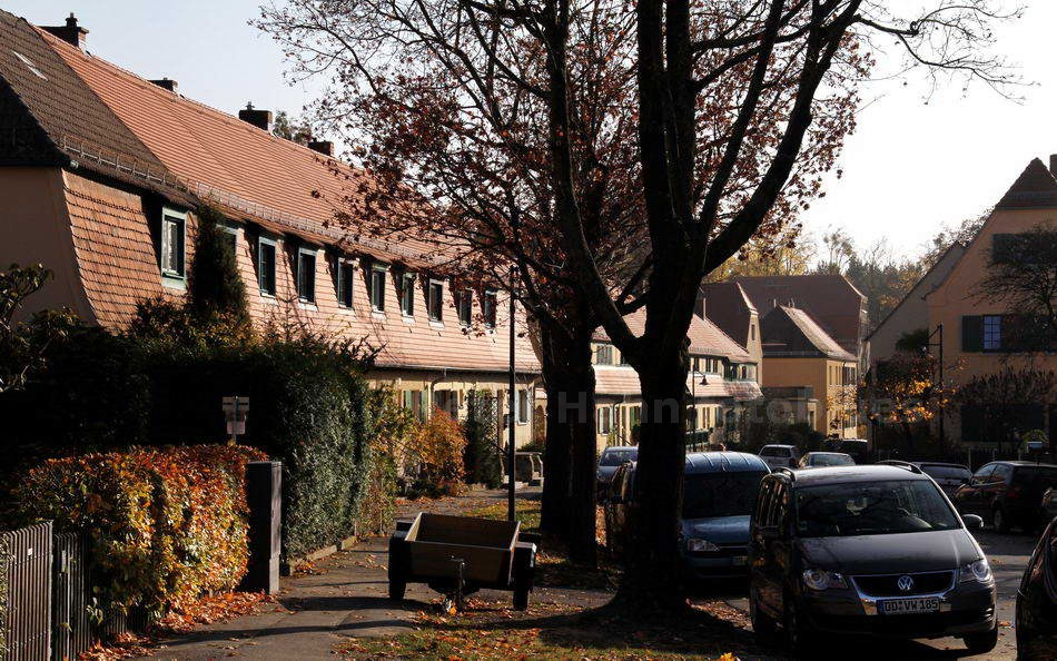 DRESDEN-HELLERAU - GERMANY - HAUPTSTRASSE