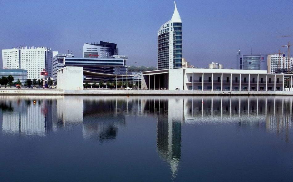 LISSABON - PORTUGAL - EXPO GELÄNDE